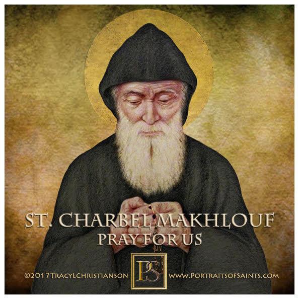 Happy Feast Day  Saint Charbel Makhlouf  1828-1898  Feast day: July 24  Saint Ch...