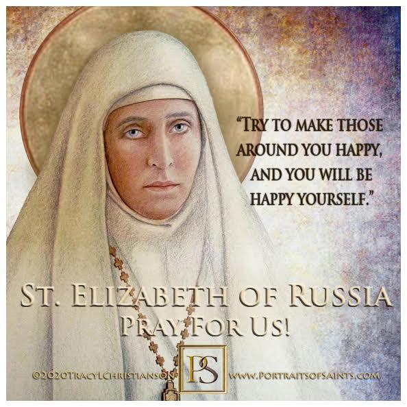 Happy Feast Day  Saint Elizabeth Feodorovna of Russia (St. Ella)  1864-1918  Fea...