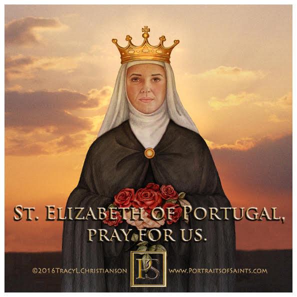 Happy Feast Day  Saint Elizabeth of Portugal  1271 - 1336  Feast day: July 4 (Ne...