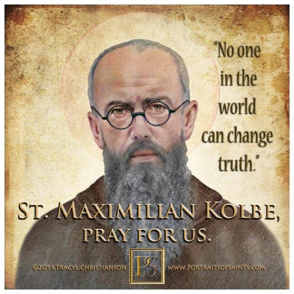 Happy Feast Day  Saint Maximilian Kolbe  1894 - 1941  Feast day: August 14  Patr...
