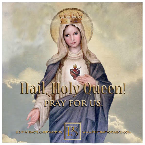 "Happy Feast Day  The Queenship of Mary   ""Because the virgin Mary was raise..."