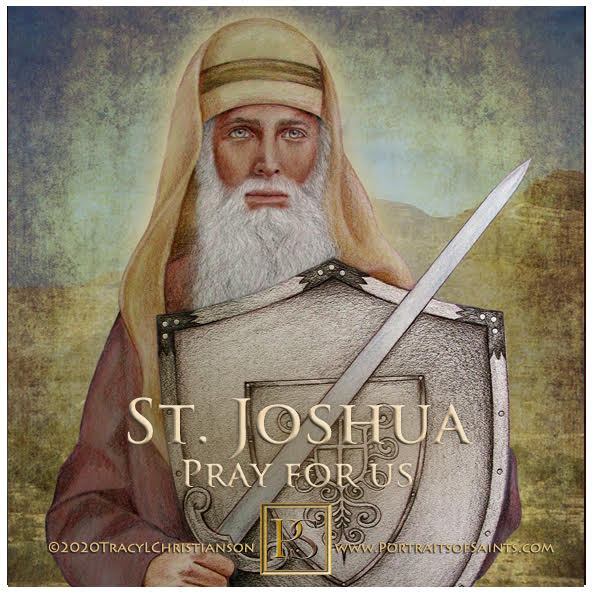 Happy Feast Day  Saint Joshua the Patriarch (Joshua the Prophet)  c.12th century...