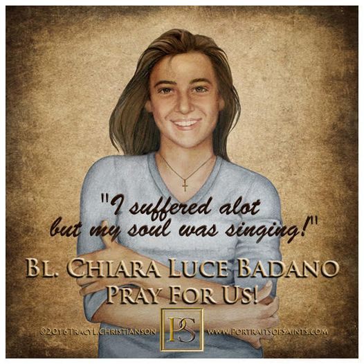 Happy Feast Day  Blessed Chiara Luce Badano  1971 - 1990  Feast day: October 2...