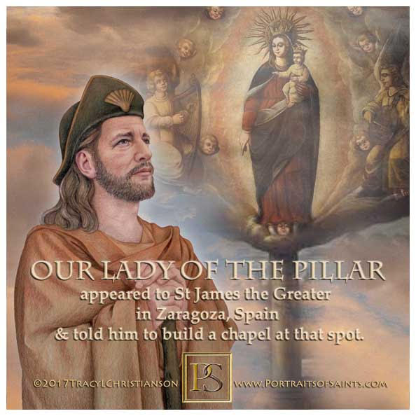 Happy Feast Day  Our Lady of the Pillar   is the title given to Our Lady (living...