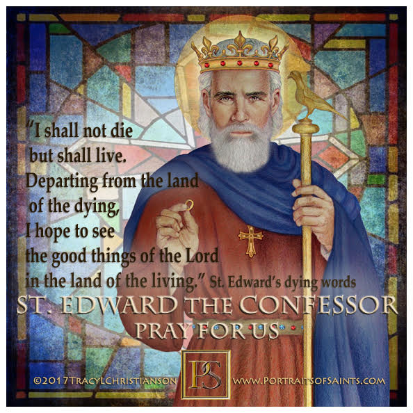 Happy Feast Day  Saint Edward the Confessor  1003-1066  Feast Day: October 13  P...