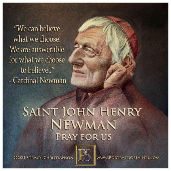 Happy Feast Day  Saint John Henry Newman  1801-1890  Feast day: October 9  John ...