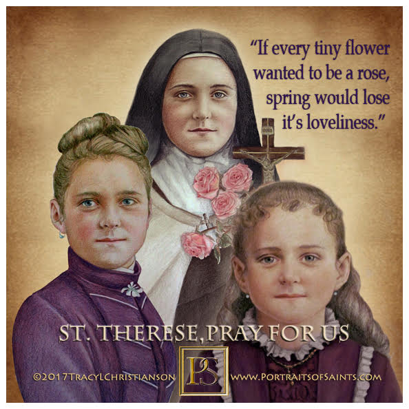 Happy Feast Day  Saint Therese of Lisieux  Doctor of the Church  1873-1897  Feas...