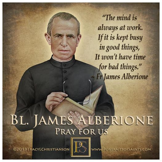 Happy Feast Day  Blessed James Alberione  Founder of the Pauline Family, the D...