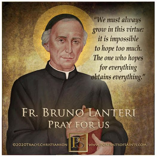 Venerable Bruno Lanteri  1759-1830  Founder of the Oblates of Mary  Father Bru...