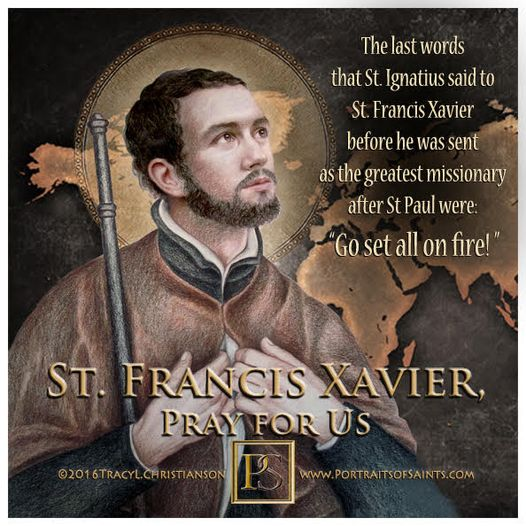 Happy Feast Day  Saint Francis Xavier  1506-1552  Feast day: December 3  Patro...