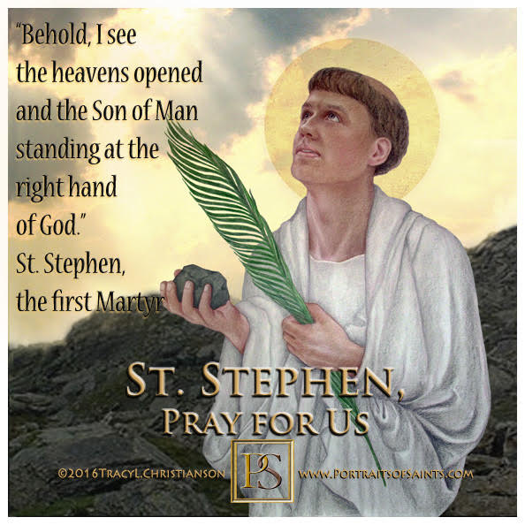 Happy Feast Day  Saint Stephen the Martyr  Died:  34   Feast day: December 26  P...