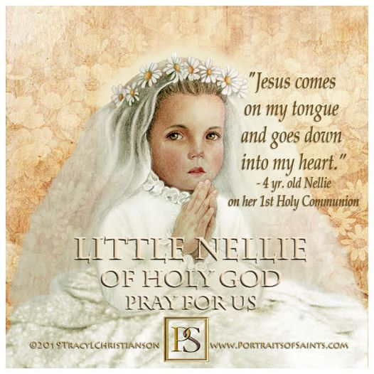 Little Nellie of Holy God (Nellie Organ)  1903-1908 Little Nellie of Holy God wa...