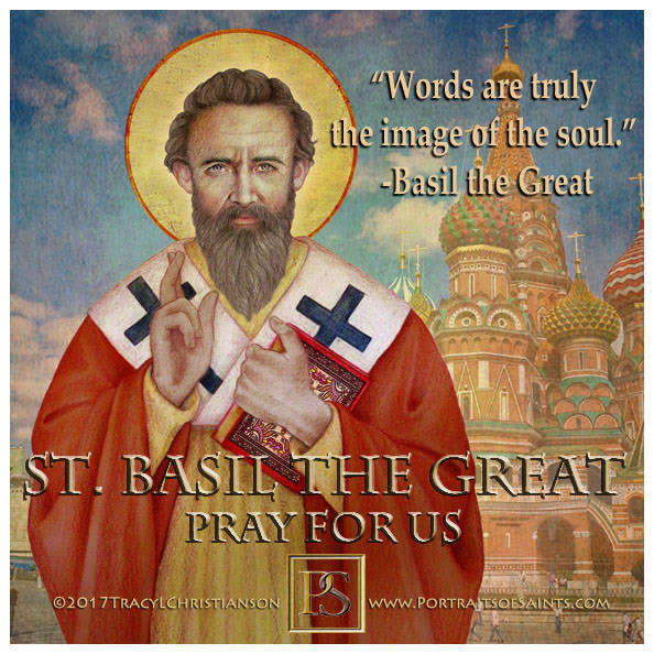 Happy Feast Day  St Basil the Great  Doctor of the Church  330-379  Feast Day: J...