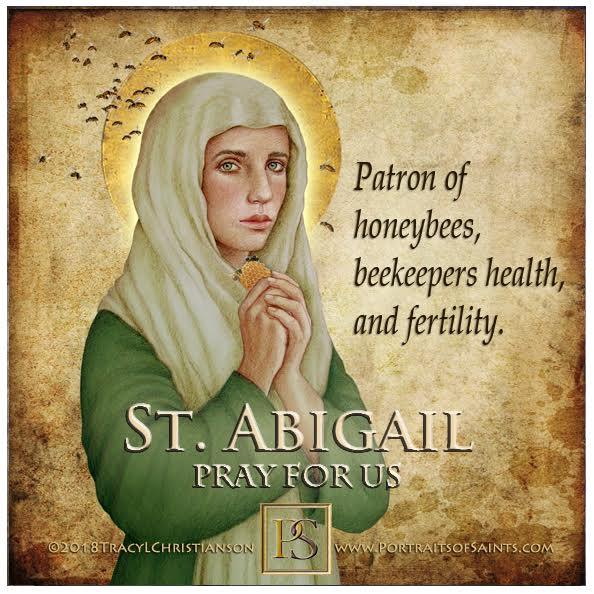 Happy Feast Day  Saint Abigail  5th-6th C.  Feast Day: February 11  Patronage: h...