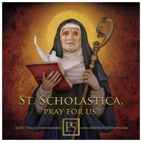 Happy Feast Day  Saint Scholastica  480 - 542  Feast Day: February 10  Patronage...