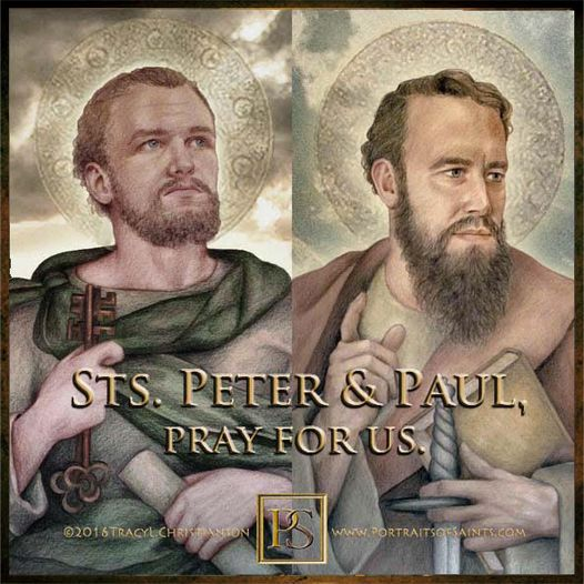 Happy Feast Day Sts. Peter and Paul Saint Peter the Apostle 5- 64  Feast Day; Ju...