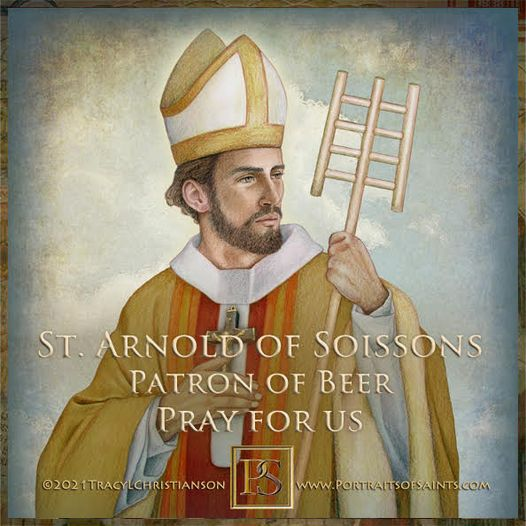 Happy Feast Day Saint Arnold of Soissons 1040-1087 Feast Day: August 14 Patronag...