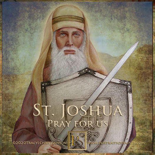 Happy Feast Day Saint Joshua the Patriarch (Joshua the Prophet) c.12th century B...