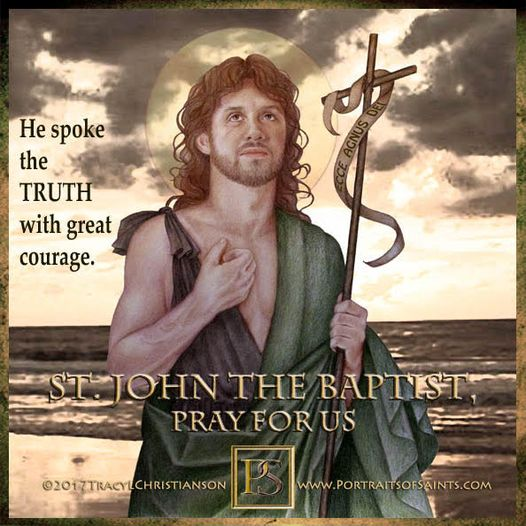 The Passion of St. John the Baptist Saint John the Baptist Died: 30 AD Feast day...