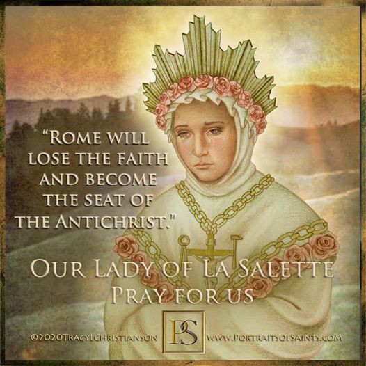 Happy Feast Day Our Lady of La Salette  1846 Feast Day: September 19 In 1846 the...