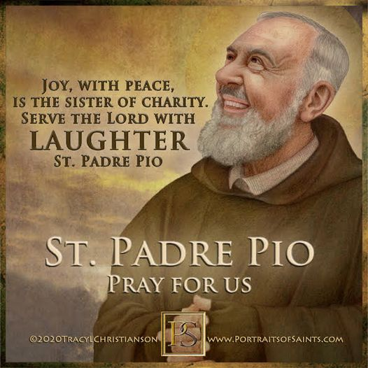 Happy Feast Day  Saint Padre Pio 1887 - 1968 Feast Day: September 23 Patronage: ...