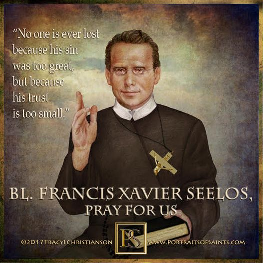 Happy Feast Day Blessed Francis Xavier Seelos 1819-1867 Feast Day: October 5 Pat...